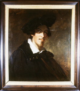 Zelfportret van Pierre Louis Dubourcq (1815-1873)