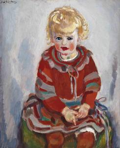 Portret van Liesje