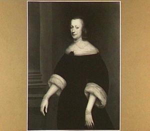 Portret van een vrouw, mogelijk Hillegond van Meerten (..-1681)
