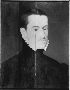 Portret van een man, mogelijk Johann Rehdiger (1536-1567)