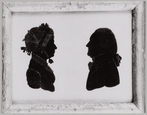 Dubbelportret van Hans Willem van Aylva (1751-1827) en Cornelia van Brakel (1754-1823)