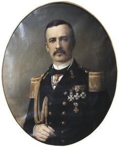 Portret van Louis Hendrik Willem Merkus de Stuers (1830-1869)