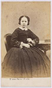 Portret van Maria Frederika Cornelia Kips (1828-1895)