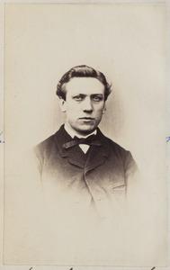 Portret van een man uit familie Wachter