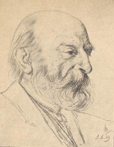 Portret van Richard Bisschop (1849-1926)