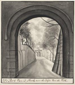 Het Stek, poort in de stadsmuur van Vest naar Stek