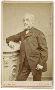 Portret van Matthias Margarethus van Asch van Wijck (1816-1882)
