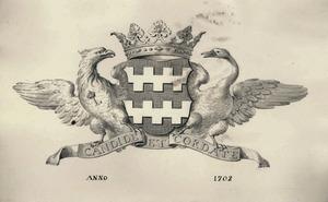 Het wapen van de familie Van Slingelandt