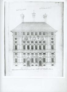 Palazzo Cattaneo Adorno: Plan van de gevel