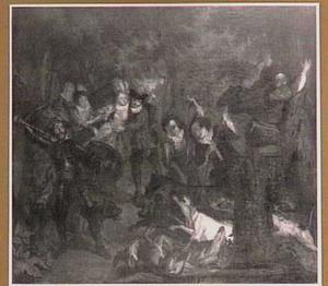 De wildezwijnenjacht van Don Quichot (II, cap.34)