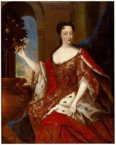 Portret van Prinses Sophie Hedwig van Denemarken (1677-1735)