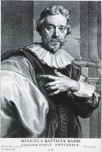 Portret van Jan Baptiste Barbé (1578-1649)