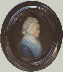 Portret van Hendrina Kluit (1725-1820)
