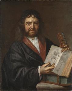 Portret van Olof Rudbeck de Oude (1630-1702)