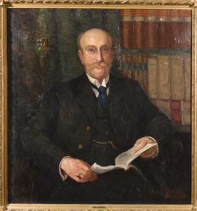 Portret van Herman Adriaan van den Wall Bake (1867-1949)