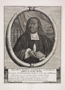 Portret van Jacobus Eliza Joannes Capitein (1717-1747)