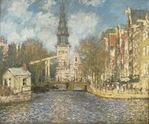 Amsterdam, de Groenburgwal en de Zuiderkerk