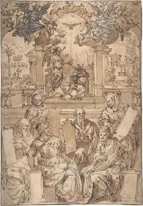 Zes profeten en de verkondiging aan Maria