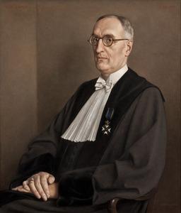 Portret van François de Vries (1884-1958)