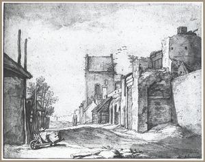 Stadsmuur (Montfoort?)