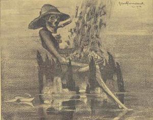 Het Eiland der Dooden in 1914