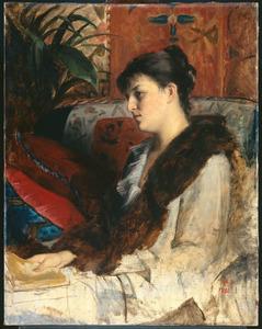 De schoonzuster van de schilderes