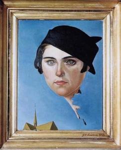 Portret van Leny van Geelkerken (1913-1947)