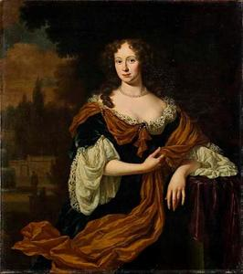 Portret van Christina Backer (1658-1734)