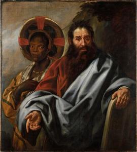 Mozes en zijn Ethiopische vrouw Seporah
