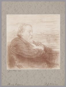 Portret van de kunstenaar Jacob Maris