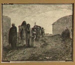 Begrafenis in de woestijn