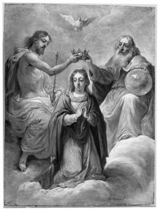 De vijftien mysteriën van de rozenkrans: de kroning van Maria tot koningin der hemelen
