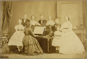 Portret van familie Maas
