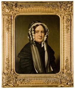 Portret van een vrouw, waarschijnlijk Sara Clasina Maria van der Voort (1792-1878)