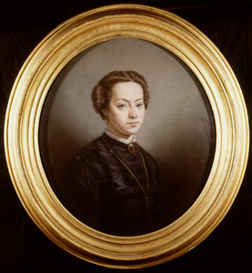 Portret van Arnoldina Aleida Maria van der Hoop (1845-1912)