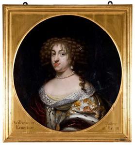 Portret van Prinses Wilhelmine Ernestine van Denemarken (1650-1706)
