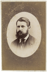Portret van George Lodewijk Schorer (1836-1879)