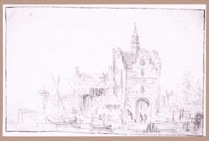 Schiedamse Poort te Delft