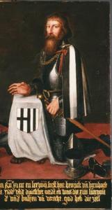 Portret van landcommandeur Hendrik van Hoenhorst