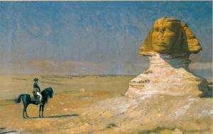 Bonaparte voor de Sphinx