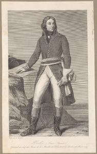 Portret van Louis Lazare Hoche (1768-1797)