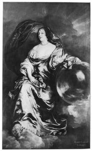 Portret van Rachel Ruvigny, Countess van Southampton (?-?) als Fortuna