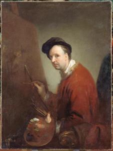 Portret van de schilder Nicolas Vleughels (1668-1773)
