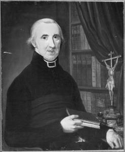 Portret van Joannes Fronhoff (1766-1826), pastoor te Haarlem