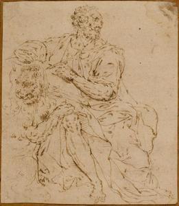 Heilige Marcus met de leeuw