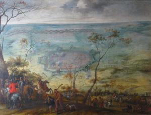 Het beleg van Einbeck door Ottavio Piccolomini en aartshertog Leopold Wilhelm, 20-24 oktober 1641