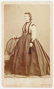 Portret van Anna Elisabeth van Pallandt (1818-1890)