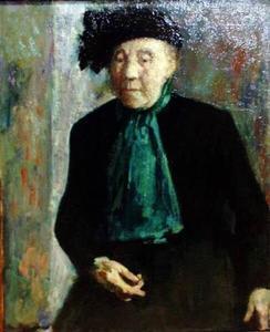 Portret van Coba Ritsema (1876-1961)