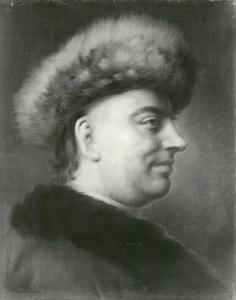 Portret van de dichter en senator van de Hamburgse Senaat Barthold Hinrich Brockes (1680-1647)