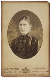 Portret van Anna Jacoba van der Haer (1851-1939)